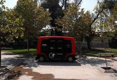 Chile estrena primer vehículo sin conductor en Latinoamérica