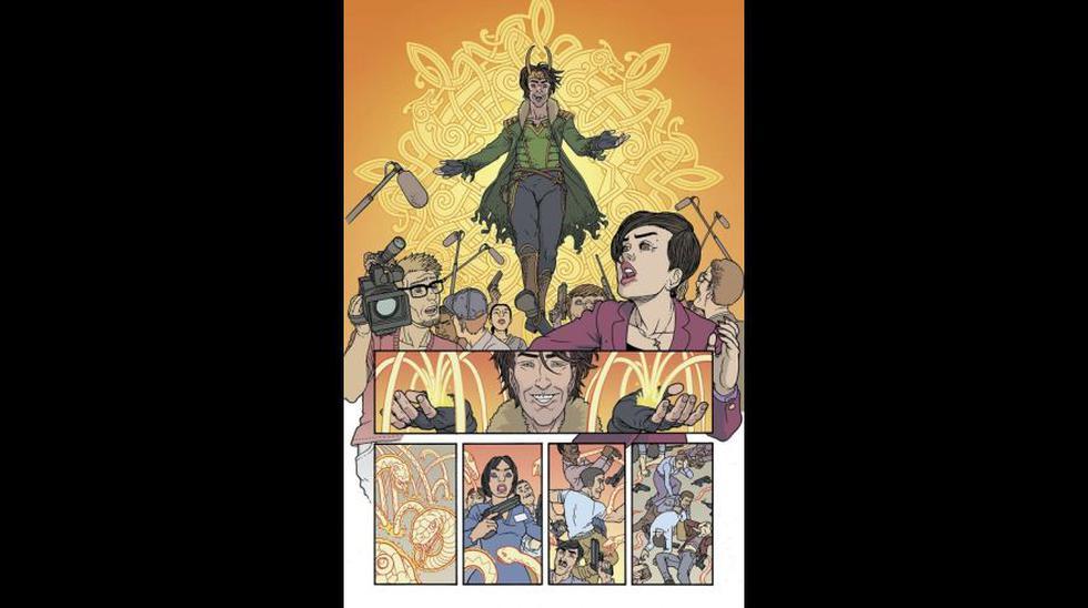 Marvel: Primer cómic de Loki estrenará en junio [FOTOS] - 5