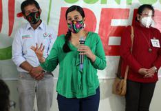 """Verónika Mendoza se solidarizó con Julio Guzmán: """"Urge un protocolo específico para campaña"""""""