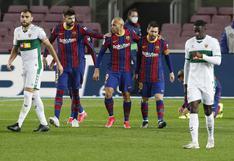Barcelona vapuleó al Elche y recortó distancias con el Atlético de Madrid en LaLiga