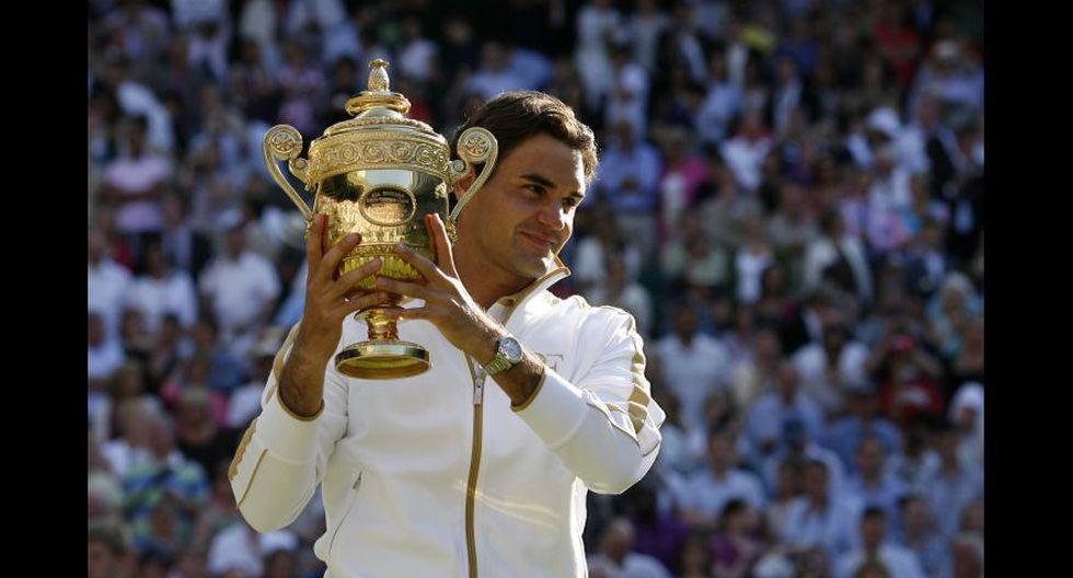 Roger Federer ganó su sexto Wimbledon en el 2009. (Foto: AFP/Reuters)