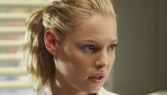 """""""Yo nunca diría nunca, pero no es probable"""", dijo Katherine Heigl sobre la posibilidad de retomar el papel de Izzie en """"Grey's Anatomy"""" (Foto: ABC)"""