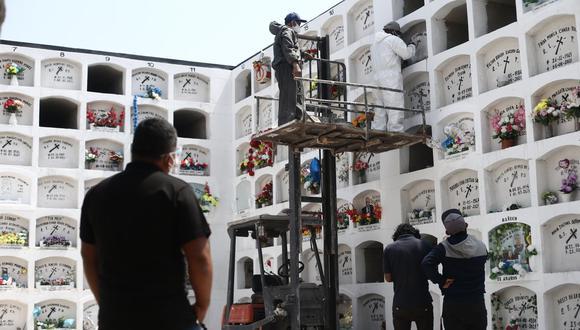 El Minsa reportó también que hay un total de 14.228 pacientes hospitalizados. (Foto: Jesús Saucedo)