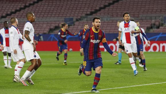 Barcelona buscará una remontada histórica en Francia ante PSG para clasificar a los cuartos de final de la Champions League | Foto: REUTERS