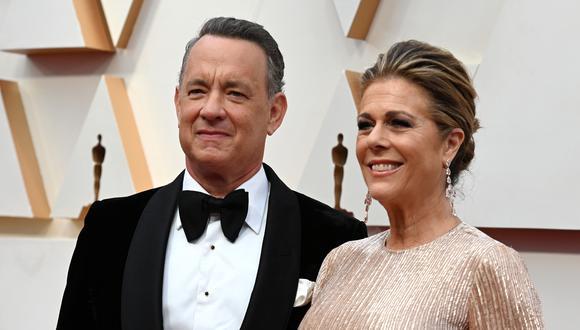 Rita Wilson describe su experiencia y la de Tom Hanks con el coronavirus. (Foto: AFP)