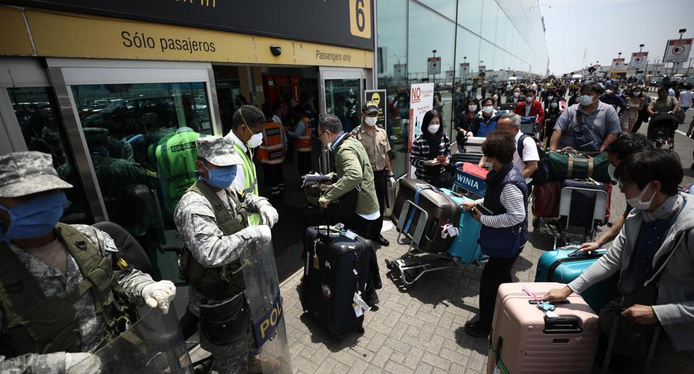 Desde las 00:00 horas del 17 de marzo, el Gobierno Peruano dispuso la cancelación de los vuelos internacionales como una de las medidas para frenar el avance del nuevo coronavirus COVID-19. (Joel Alonzo - GEC)