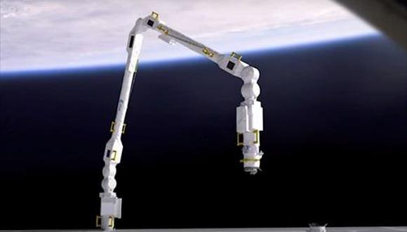 Ilustración de funcionamiento del ERA (Brazo Robótico Europeo) - ESA