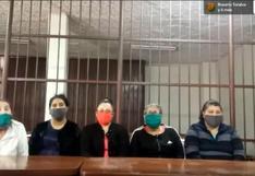 Callao: condenan a 15 de cárcel a 10 'burriers' mexicanos detenidos en el aeropuerto Jorge Chávez