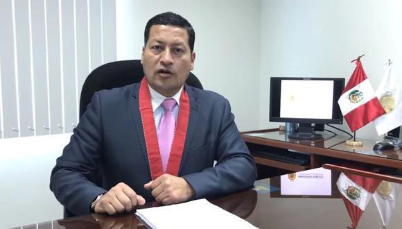 """""""El caso ya está siendo investigado por el fiscal provincial Elmer Chirre. Hemos coordinado con los fiscales de Moquegua para ver la investigación que se tiene, para hacer una estrategia de investigación"""", afirmó Tello. (Foto: El Comercio)"""