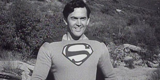 Kirk Alyn played the Man of Steel in the 1948 film series Superman and its 1950 sequel, Atom Man vs.  Superman (Photo: