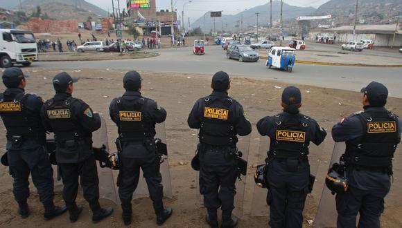 Ayacucho: Inspectoría General de la Policía inició investigación contra policías que recibieron coima (Foto referencial)