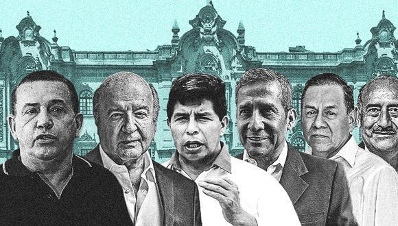 Particiaron en esta segunda fecha: Daniel Urresti, Hernando de Soto, Pedro Castillo, Ollanta Humala y Andrés Alcántara. El candidato José Vega Antonio (UPP) abandonó el debate pocos minutos después de haberse iniciado. (Foto: GEC)