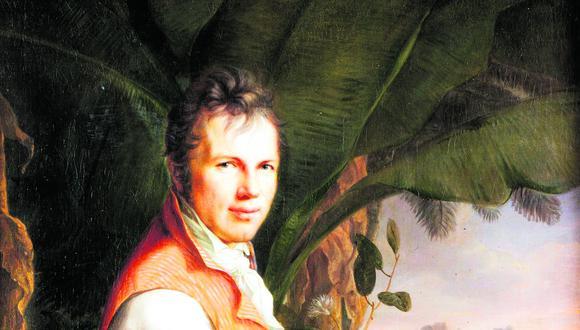 Retrato al óleo de Alexander von Humboldt en Sudamérica, por Friedrich Georg Weitsch (1806) (Créditos: Alienationale Galerie)