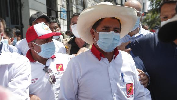 El jueves, Pedro Castillo fue trasladado de urgencia a una clínica de la ciudad de Lima tras sufrir una descompensación respiratoria.  (Foto: Archivo/GEC)