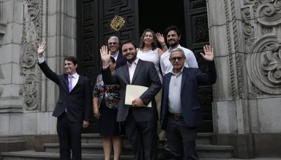 Los congresistas del Partido Morado señalan que esta medida ayudará a reducir los niveles de corrupción en las altas autoridades. (Foto: Grupo El Comercio)