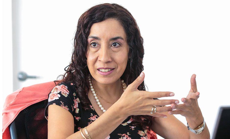 Giovanna Prialé, presidente de la asociación de AFP (Foto: Diana Chávez / El Comercio)