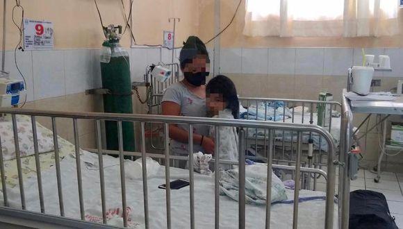 Niña de 6 años logró superar el nuevo coronavirus tras permanecer nueve días en el área UCI del hospital Dos de Mayo. (Foto: Minsa)