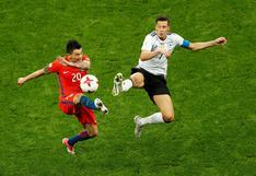Chile igualó 1-1 con Alemania por la Copa Confederaciones 2017