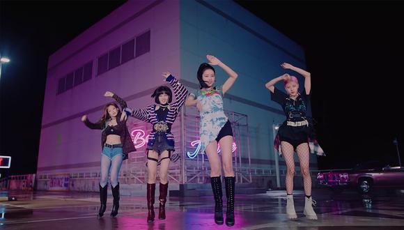 BLACKPINK se convierte en el primer grupo femenino de K-Pop en vender más de un millón de discos. (Foto: BLACKPINK / Youtube)