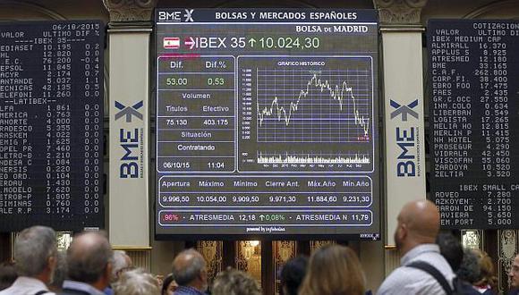 En Madrid, el índice IBEX 35 ganó 1.09% y terminó en 9,270.80 unidades. (Foto: EFE)