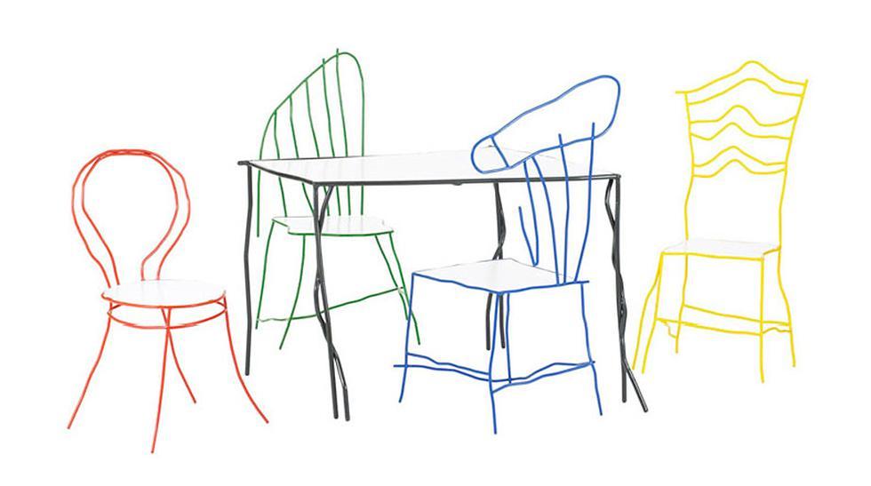 ¿Te sentarías en un 'garabato'? Mira estas increíbles sillas - 1