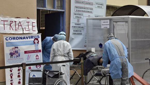 El adulto fue internado el 23 de julio pasado en Cochabamba  e intervenido quirúrgicamente en dos ocasiones, luego que el diagnóstico histopatológico confirmó que se trataba del primer caso de hongo negro en el país. (Foto: AIZAR RALDES / AFP)