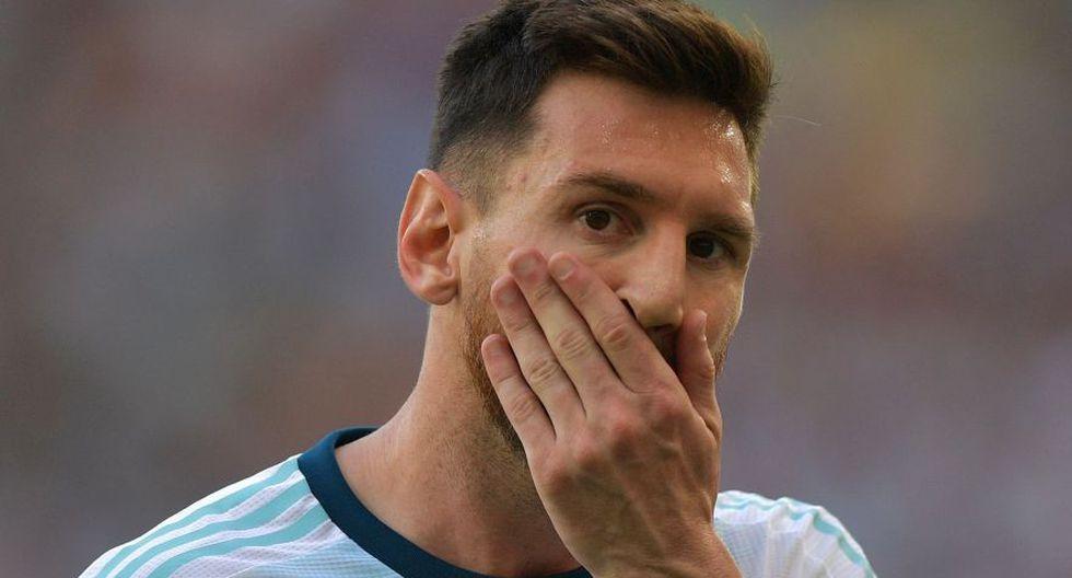 Lionel Messi no brilla en la Copa América. (Foto: AFP)