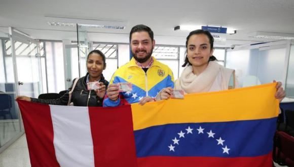 El PTP les permite a los ciudadanos venezolanos regularizar su situación migratoria en el país durante un año. (Foto: Migraciones)