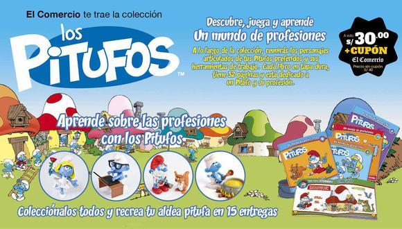 Los Pitufos, una aldea de oficios