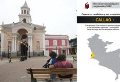 Elecciones 2018: conozca a los candidatos del Callao y sus planes de gobierno