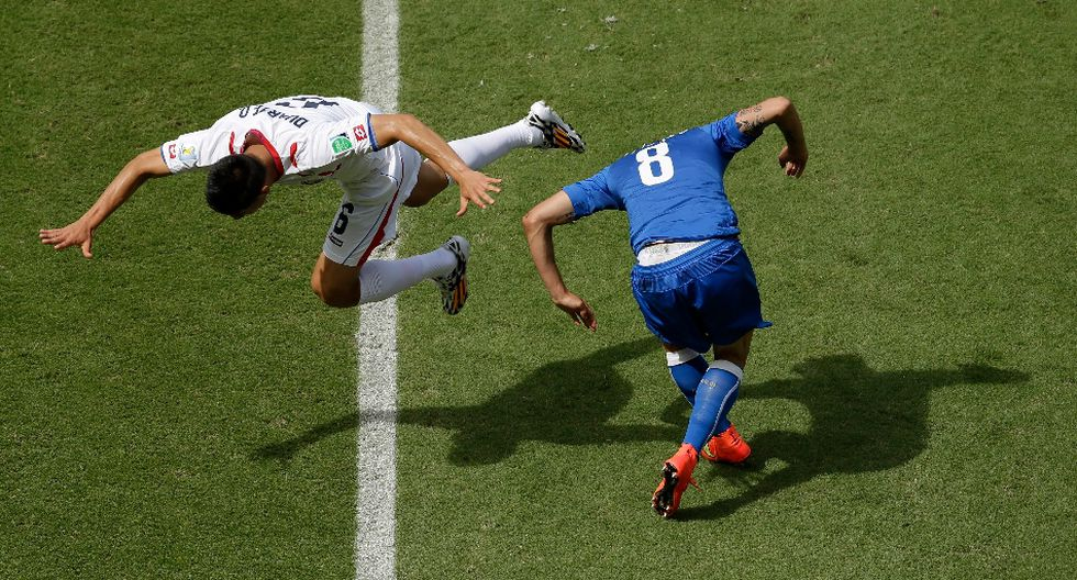 Italia vs. Costa Rica: las mejores postales a ras de campo - 11