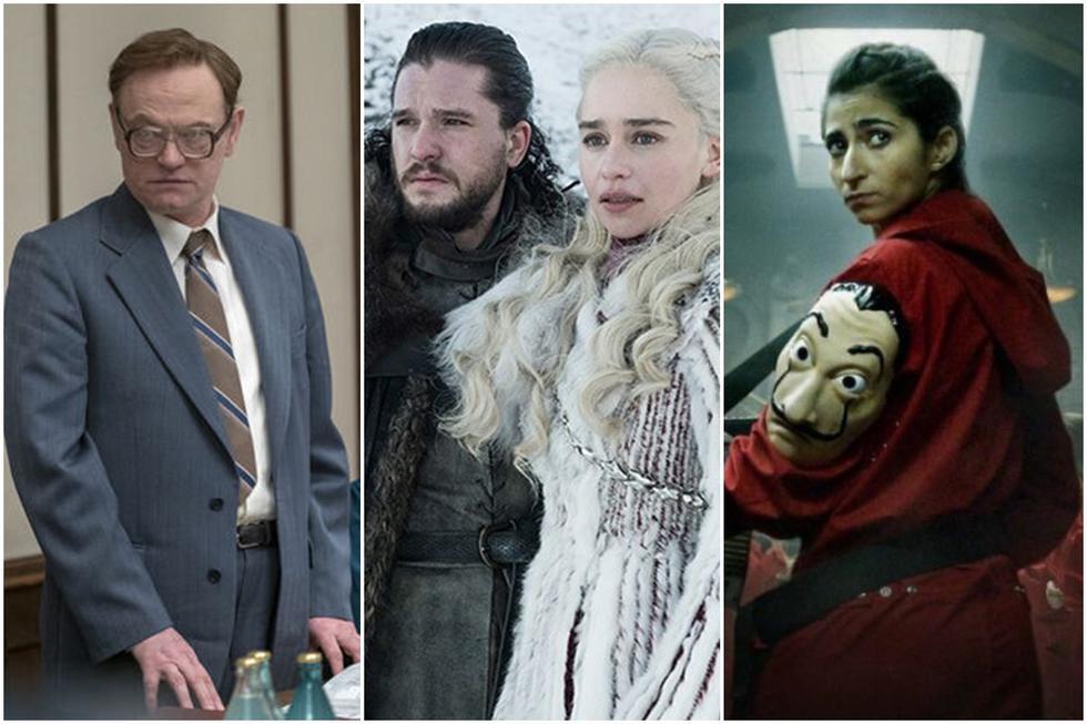 """""""Chernobyl"""", """"Game of Thrones"""" y """"La casa de papel"""" fueron las series más exitosas del 2019. (Foto: Difusión)"""