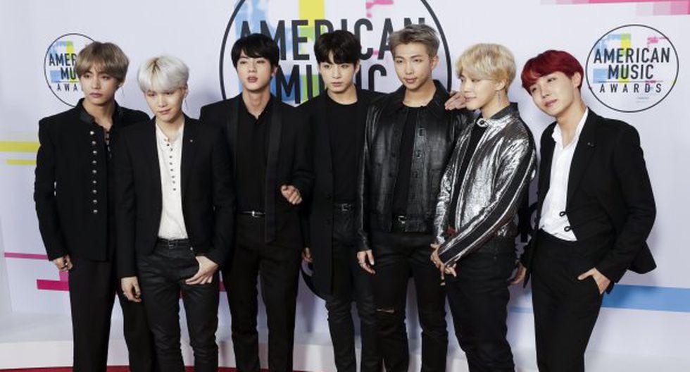 BTS compite en los Grammy 2019 en la categoría Mejor Diseño de Grabación por su álbum Love Yourself: Tear, publicado el 18 de mayo del año pasado. (Foto: EFE)