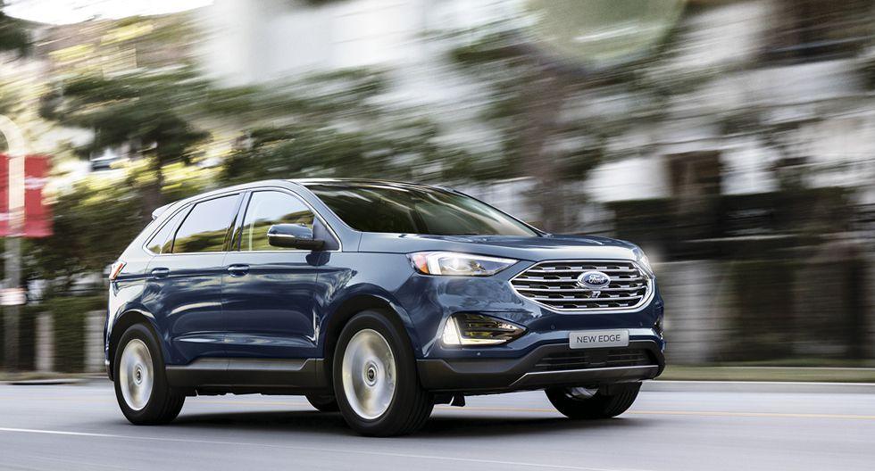 Lanzamiento de preventa de New Ford Edge 2020. (Foto: Difusión)
