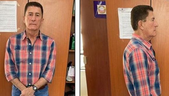 Roca Suárez tras su detención en marzo. (Policía de Colombia).