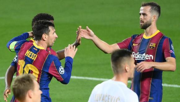 Miralem Pjanic tiene contrato con Barcelona hasta mediados del 2024. (Foto: AFP)