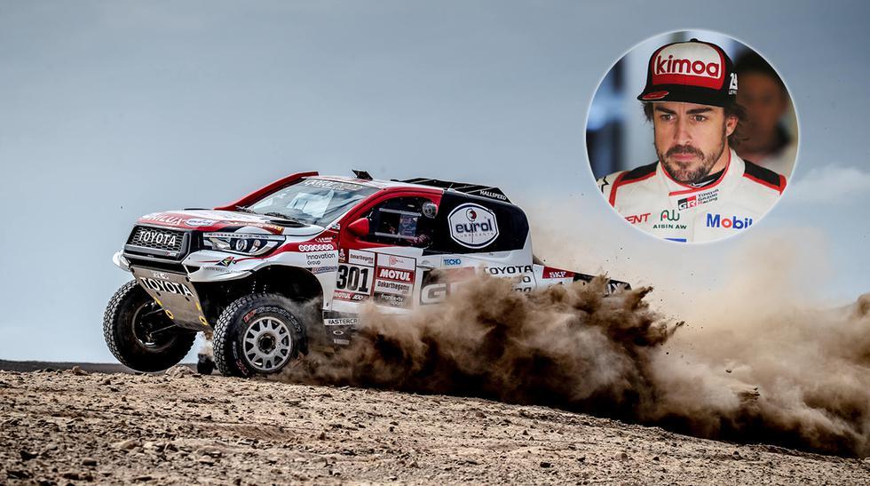 Luego de participar en la Fórmula 1, 24 Horas de Le Mans e Indycar, Fernando Alonso estaría cerca de debutar en el Rally Dakar. (Fotos: Toyota Gazoo Racing).
