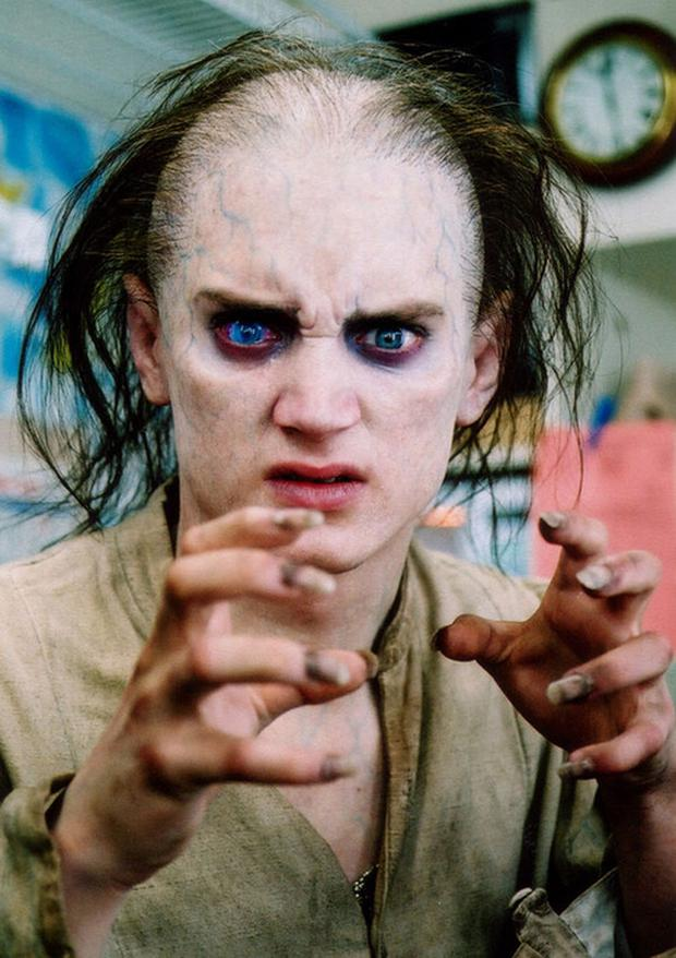 Frodo was going to look like Gollum in a vision of the future.  There was only a record of the makeup she used (Photo: New Line Cinema)