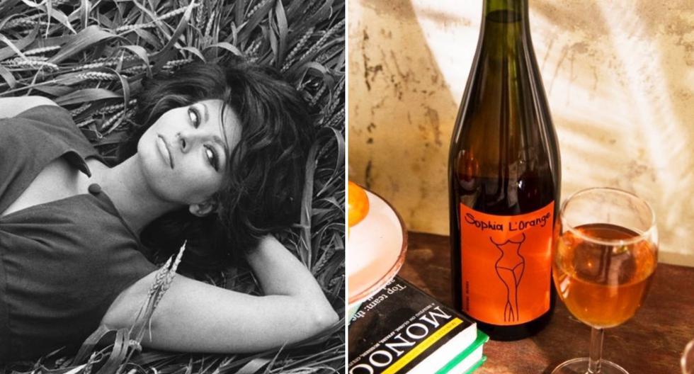 """""""Sophia L'Orange"""" es un vino peruano del valle de Pisco, elaborado con uvas quebranta y mollar por la Bodega Murga. Su precio es de unos S/90. Foto: Agencias"""