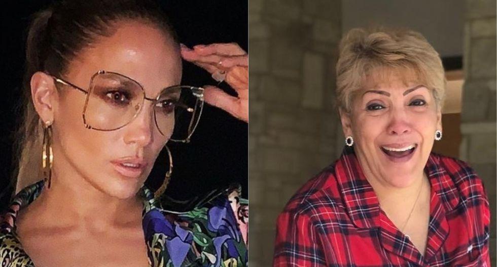 Jennifer Lopez saludó a su madre por su cumpleaños. (Foto: Instagram)