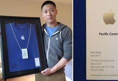 ¿Sam Sung trabajó para Apple?