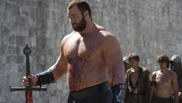 "Hafthor Bjornsson en ""Game of Thrones"" (Foto: HBO)"