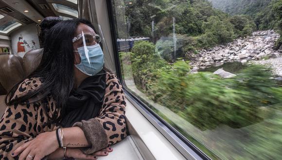 El domingo 1 de noviembre se reiniciaron comercialmente las rutas ferroviarias a Machu Picchu. (Foto: AFP)