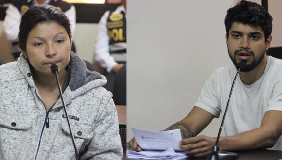 El venezolano Jair Guerra Contreras y la ecuatoriana Sonia Avilés Chilan fueron intervenidos por las autoridades. (CSJL/Twitter)