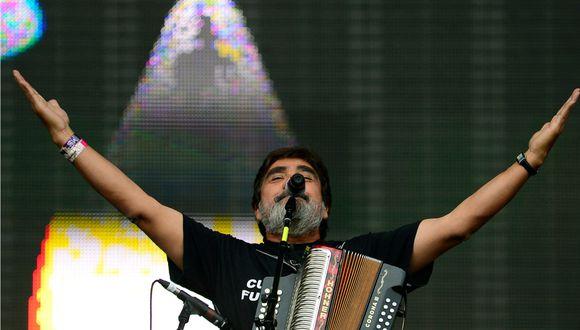 El cantante mexicano Celso Pina, falleció este miércoles a los 66 años (Foto: AFP)