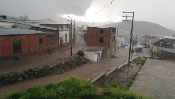 Lluvias de moderada a fuerte intensidad en la sierra del Perú se presentarán hasta el próximo sábado según pronóstico del Senamhi. (Foto: COEN)