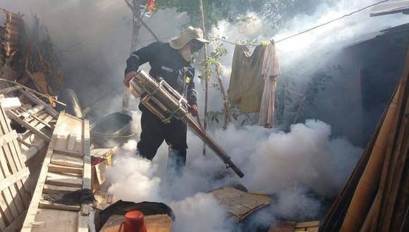 Piura: casos de dengue se mantienen bajos en comparación al año pasado