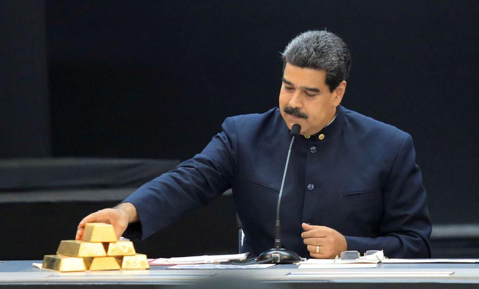 Venezuela venderá 15 toneladas de oro a Emiratos Árabes Unidos a cambio de euros en efectivo. (Reuters).