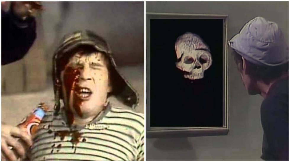 """""""El Chavo del 8"""", una historia de horror: cuatro episodios que te pusieron los pelos de punta de niño. (Foto: Captura de video)"""