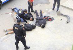Callao: dictan 7 días de detención preliminar para delincuentes implicados en robo a agencia bancaria  | VIDEO